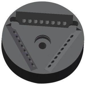 R-Ax3x8x0.2 PCR Fixed Angle Rotor