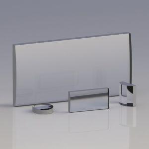 KL25-025-075 UV Grade Fused Silica Plano-Convex Cylindrical Lenses